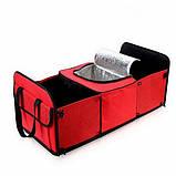 Органайзер - холодильник у багажник автомобіля Trunk Organaizer and Cooler, фото 4