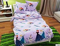 Двухспальный постельный комплект-Ледяное сердце
