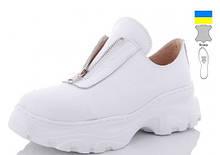 Туфли кожаные женские Белые Mermaid-200-5