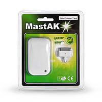 Сетевое зарядное устройство MastAK MFi-011 2.1A + USB кабель 30pin для iPod, iPad,iPhone 3/4 White, фото 1