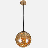 Подвесной стильный шар с нитями внутри 12W в современном стиле LV 752568-LED AMBER