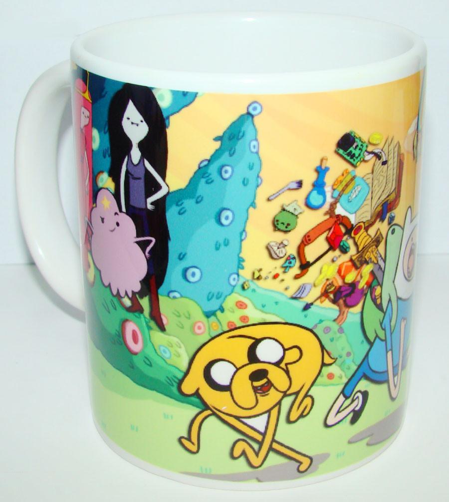 Чашка Время приключений (Фин и Джек, Adventure Time)