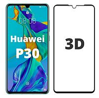 Защитное стекло 3D для Huawei P30 (хуавей п30)