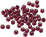 02077 Бисер Mill Hill, 11/0 Brilliant Magenta Glass Beads, фото 2