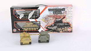 Танковый бой 2 танка Т34
