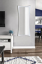 Зеркало настенное, белое 1300х550 мм.