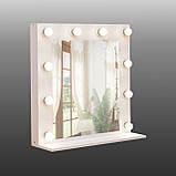 Зеркало для макияжа с подсветкой 700х700 мм, фото 2
