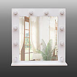 Зеркало для макияжа с подсветкой 700х700 мм, фото 5
