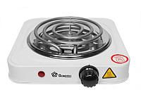 Электрическая плита спиральная Domotec MS-5801 1000W тэновая, фото 1