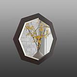 Восьмиугольное зеркало с фацетом 800 мм, фото 2