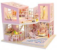 """3D Румбокс """"Первая любовь"""" Кукольный Домик DIY DollHouse Конструктор от CuteBee (M915)"""