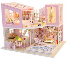 """3D Румбокс """"Перша любов"""" Ляльковий Будиночок DIY DollHouse Конструктор від CuteBee (M915)"""