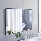 Зеркало прямоугольное в полный рост синего цвета, фото 5