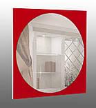 Зеркало на основе крашеного стекла 600х600, фото 2