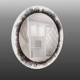 Круглое зеркало на основе ДСП 800 мм, фото 3