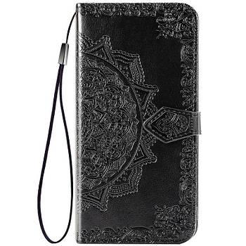 Кожаный чехол (книжка) Art Case с визитницей для Xiaomi Redmi 9