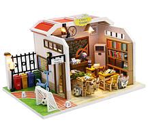 """3D Румбокс """"Шкільний клас"""" Ляльковий Будиночок DIY DollHouse Конструктор від CuteBee (M907Z)"""