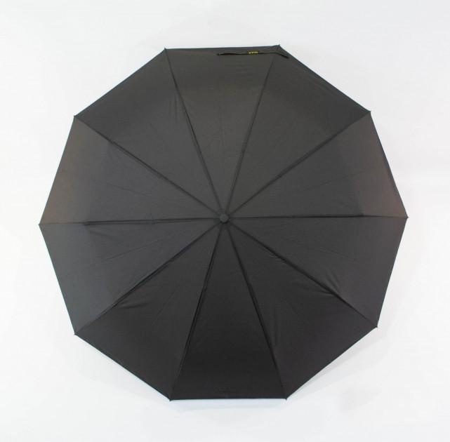Зонт мужской автомат с большим куполом 123 см Max черный. Анти-ветер, 10 спиц (roz-0914)