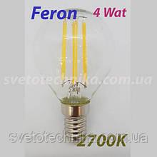 Светодиодная лампа Feron LB-61 E14 4W2700K