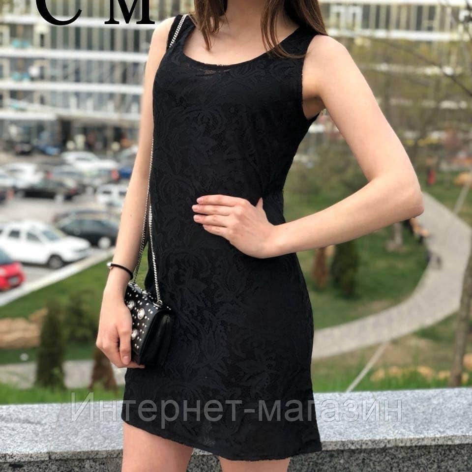 Женское круживное платье  S,M
