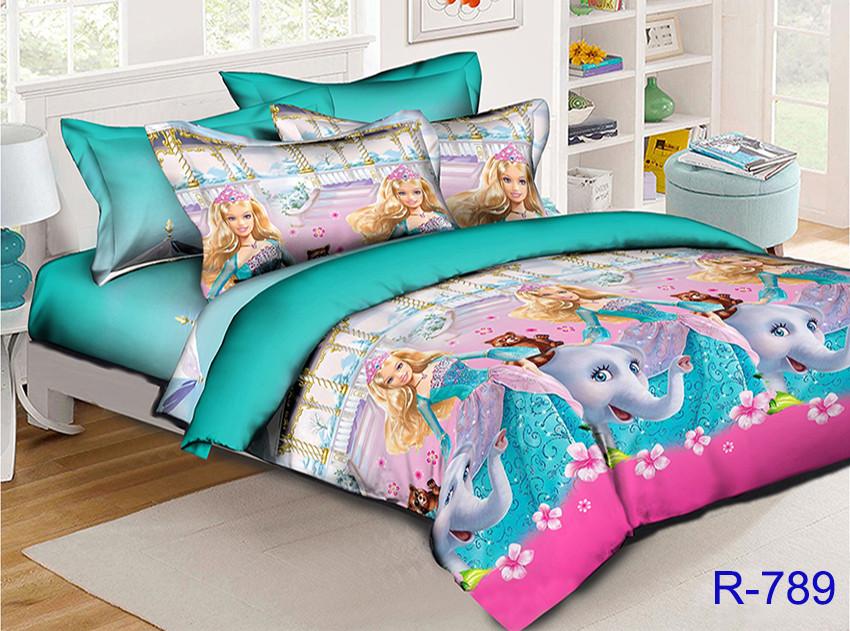 Комплект постельного белья детский подростковый для девочек R789 ТМ TAG