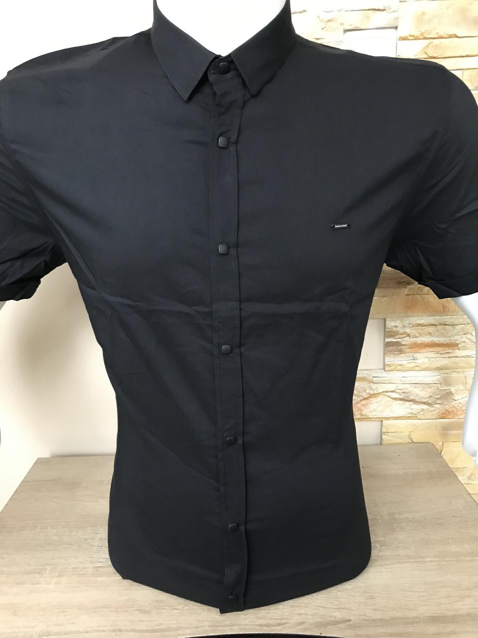Батальна сорочка з коротким рукавом Black Stone