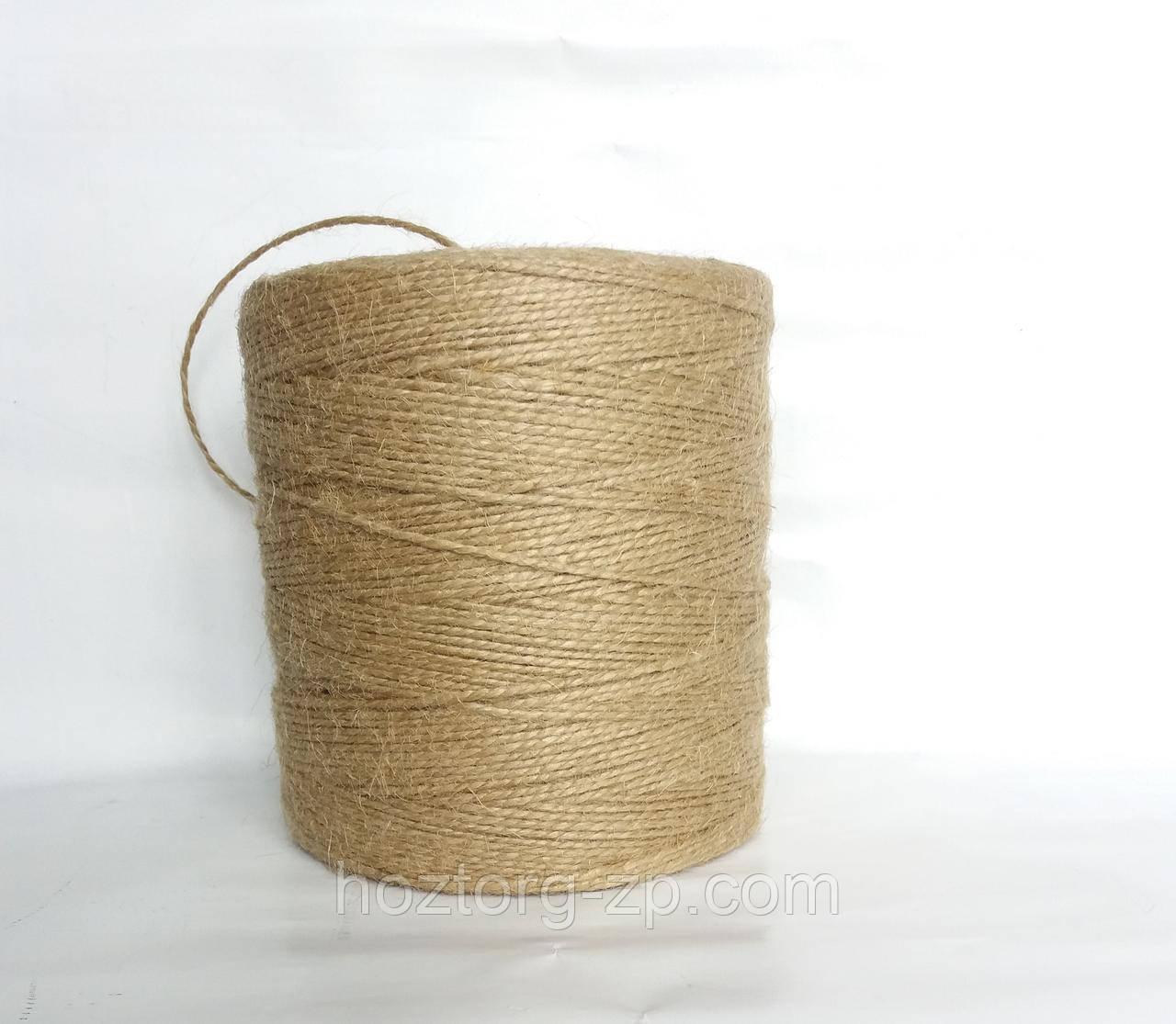 Шпагат (пряжа)  джутовая двухниточная для вязания