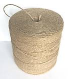 Шпагат (пряжа)  джутовая двухниточная для вязания, фото 6