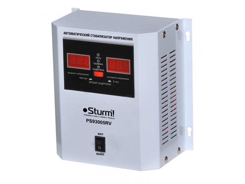 Стабилизатор напряжения настенный 500 ВA  Sturm PS930051RV