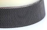 Браслет сетка для часов на магнитной застежке. Миланское Плетение,18 мм. Черный, фото 5