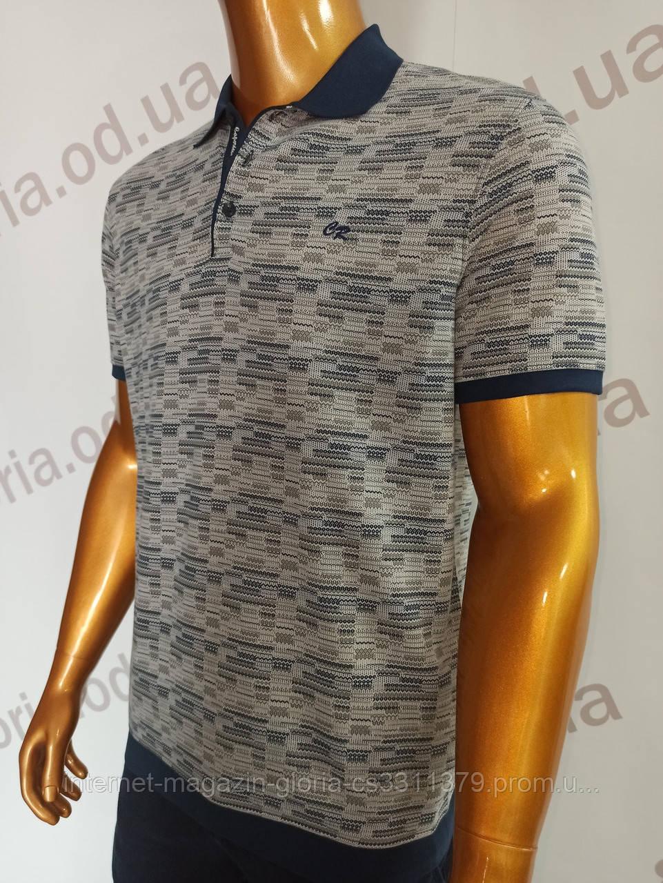 Мужская футболка поло Caporicco. PSL-8831. Размеры: M,L,XL,XXL.
