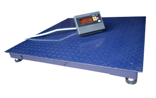 Платформенные весы ЗЕВС ВПЕ Стандарт 1200х1200 (5000кг), фото 2