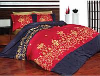 Постельное бельё сатин Altinbasak Azel kirmizi красный