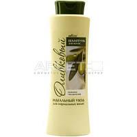 Шампунь для нормальных волос оливковый (Питание&Увлажнение) - Bielita 500мл.