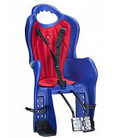 Велокресло детское Elibas P HTP design на багажник синий