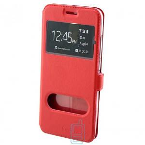 Чехол-книжка Nillkin 2 окна Apple iPhone 5 красный