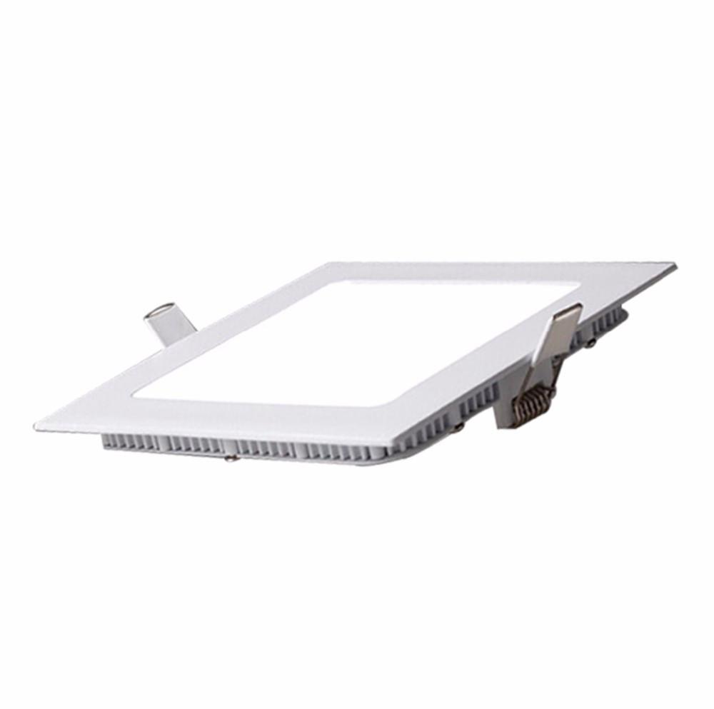 Светодиодный встраиваемый светильник квадрат 6W Slim/Sq-6 Horoz 4200K