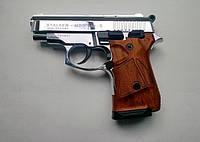 Стартовый шумовой сигнальный пистолет Stalker (Сталкер) 914. Zoraki 914 Chrome