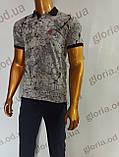 Мужская футболка Поло, MSY. 11232-8334(grey). Размеры: M,L,XL,XXL., фото 5
