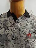Мужская футболка Поло, MSY. 11232-8334(grey). Размеры: M,L,XL,XXL., фото 6