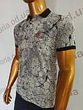 Мужская футболка Поло, MSY. 11232-8334(grey). Размеры: M,L,XL,XXL., фото 2