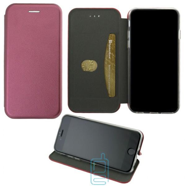 Чехол-книжка Elite Case Samsung J4 2018 J400 бордовый