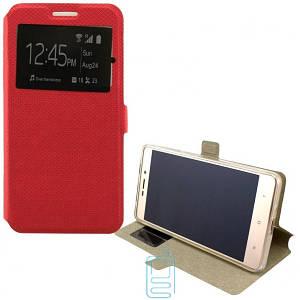 Чехол-книжка Modern 1 окно LG G3 D855 красный