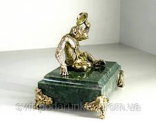 Бронзовая статуэтка Обезьяна эксклюзивный подарок, фото 3