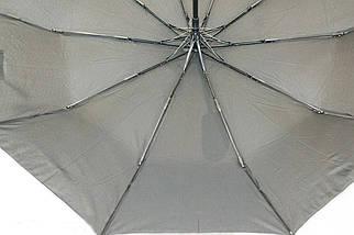 Зонт мужской полуавтомат с куполом 98 см Max черный. Анти-ветер, 10 спиц., фото 3