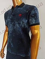 Мужская футболка поло MSY. 11232-8334(si). Размеры: M,L,XL,XXL., фото 1