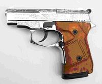 Стартовый шумовой сигнальный пистолет Stalker (Сталкер) 914. Zoraki 914 Chrome Engraved