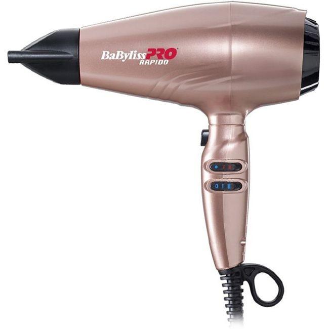 Профессиональный фен для волос Babyliss PRO Rapido BAB7000IRGE Gold Rose