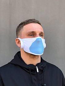 Многоразовая защитная маска антибактериальная