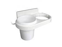 Стакан подставка для зубных щеток с держателем для фена SKL11-132854